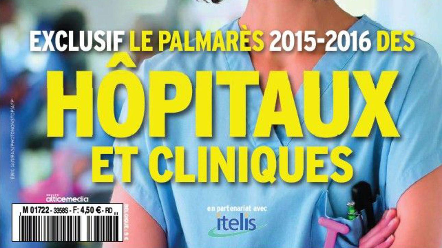 Le palmar?s 2015-2016 des h?pitaux et cliniques