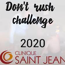 Don't rush challenge, Clinique Saint Jean Montpellier. Cap Santé